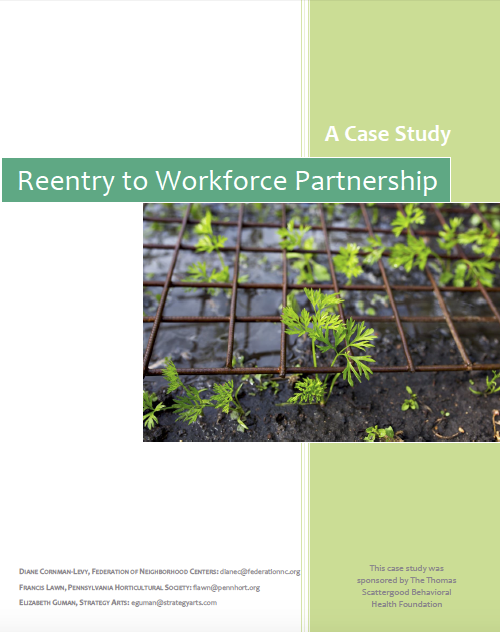 Reentry To Workforce Partnership Title Page